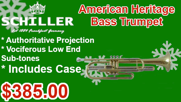 Schiller American Heritage Bass Trumpet on sale