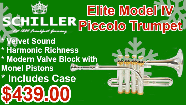 Schiller Elite Model IV Piccolo Trumpet on sale