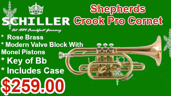 Schiller Shepherds Crook cornet on sale