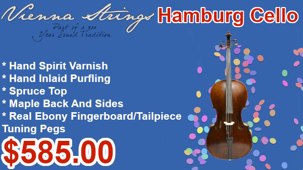 Vienna Strings Hamburg Cello on sale