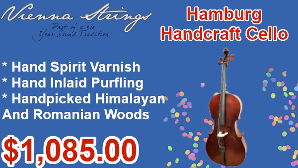 Vienna Strings Hamburg Handcraft Cellon on sale