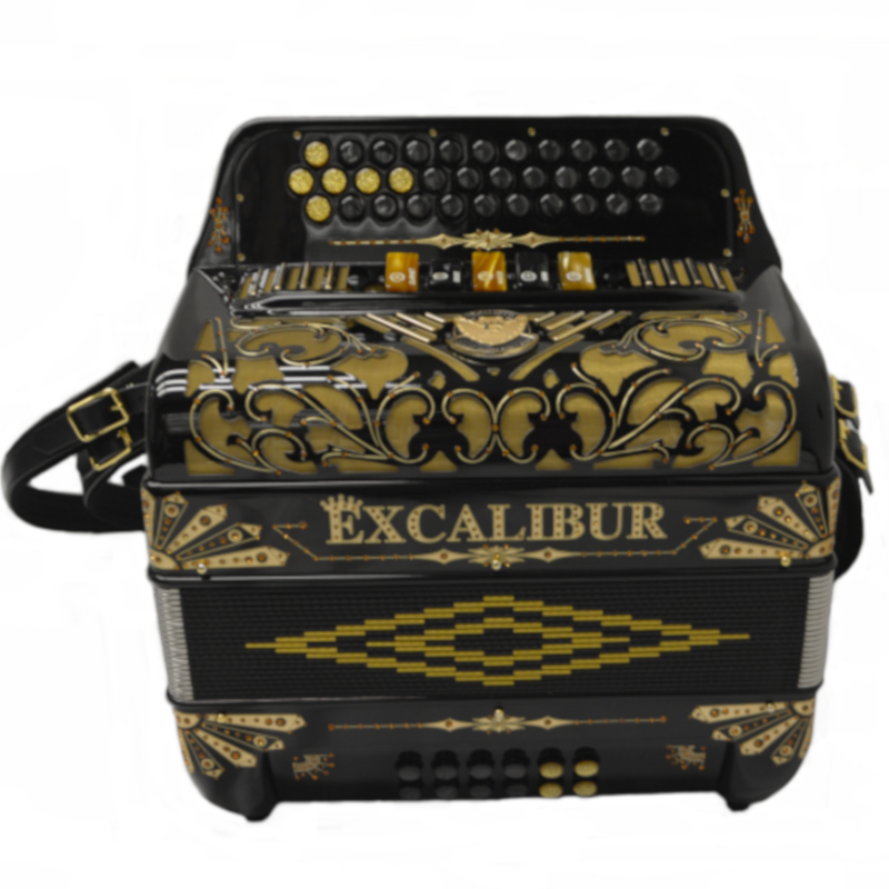 Excalibur Crown Custom 5 Switch Black Gold Limited FBbEb