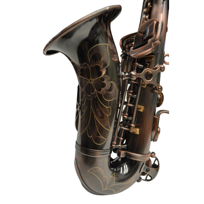 Schiller American Heritage 400 Curved Soprano Saxophone – Istanbul Copper