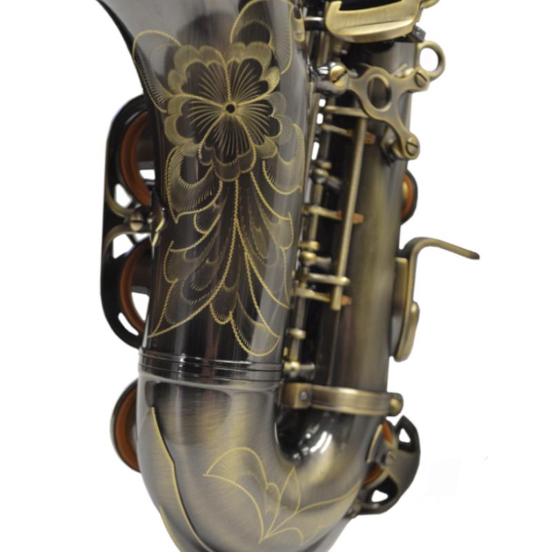 Schiller American Heritage 400 Curved Soprano Saxophone –Turkish Brass