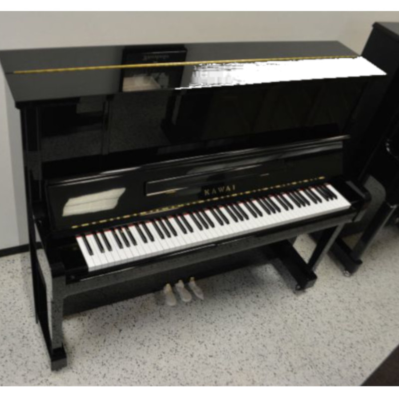 Kawai BS2A Upright Piano Black Polish