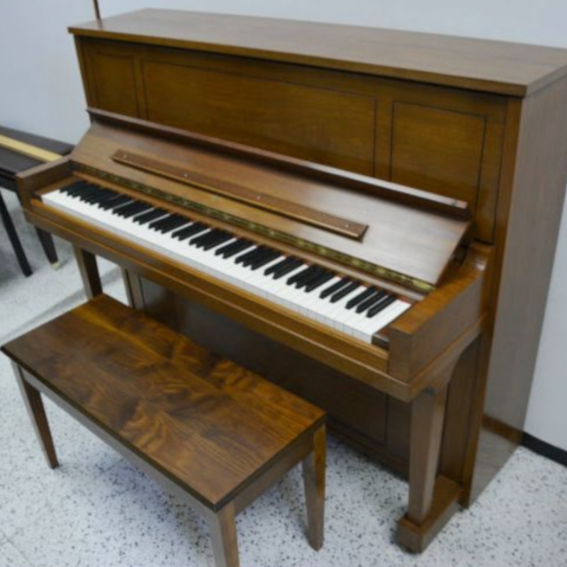 Steinway Upright Piano Model 45 - Walnut Polish
