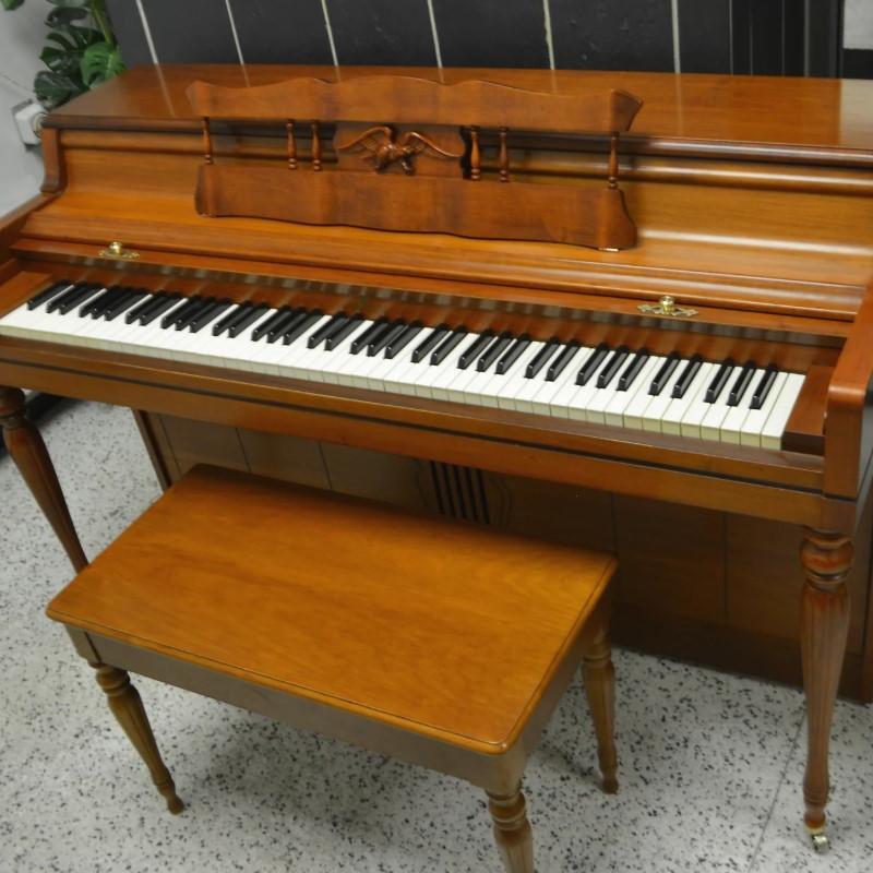Wurlitzer LTD Edition Cherry Satin Upright Piano