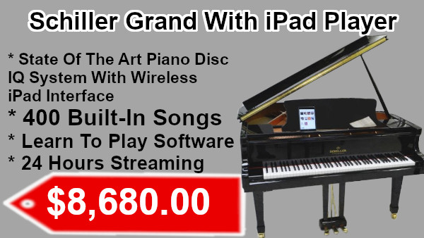 Schiller Grand with iPad Player on sale