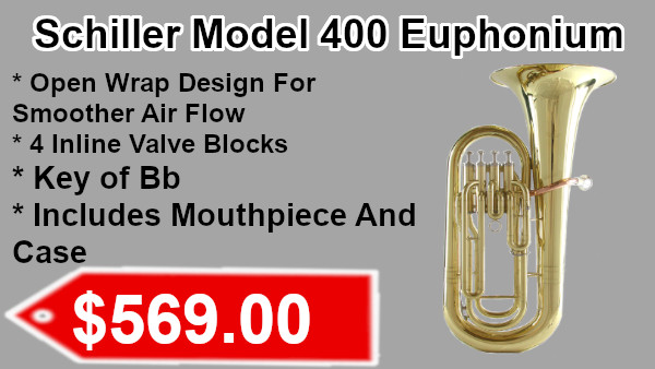 Schiller Model 400 Euphonium on sale