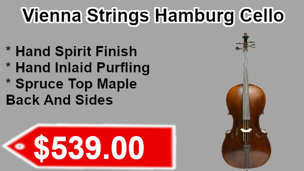 Vienna Strings Hambug cello on sale