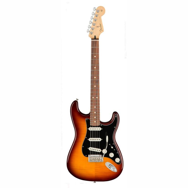 Fender Player Stratocaster Plus Top - Tobacco Burst