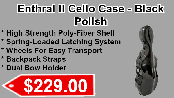 Enthral II cello case on sale