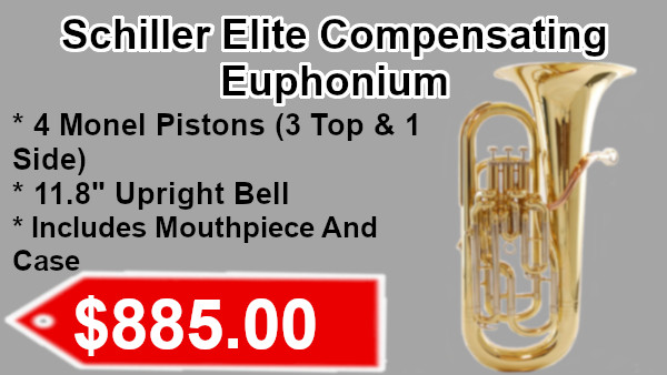 Schiller Elite Compensating Euphoniumon sale