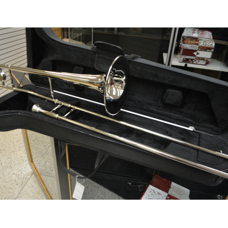 Schiller Studio 500 Trombone - Nickel Plated