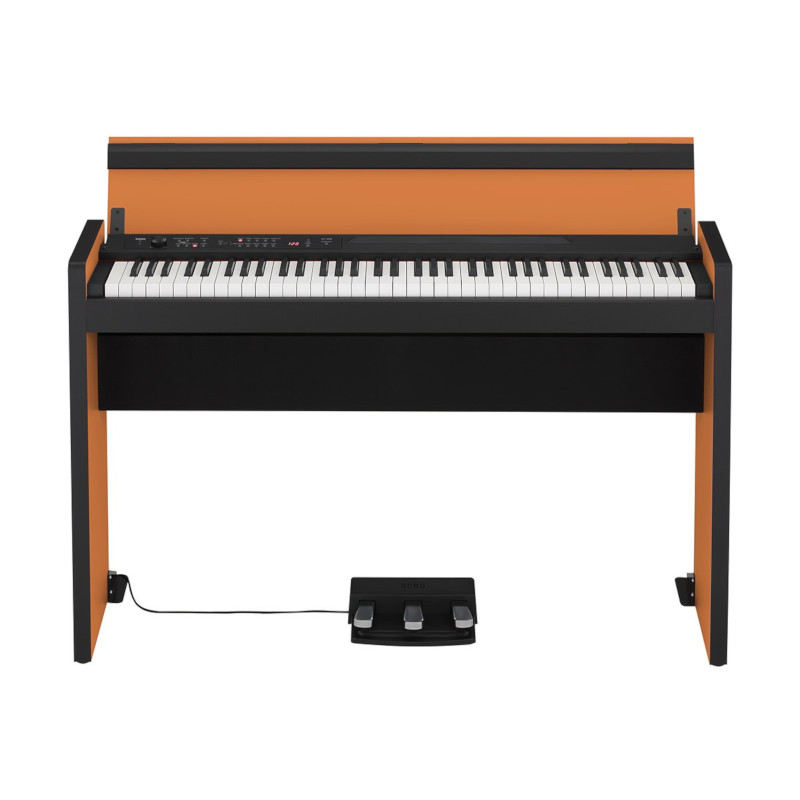 Korg LP-380 73 Key Digital Piano - Orange/Black