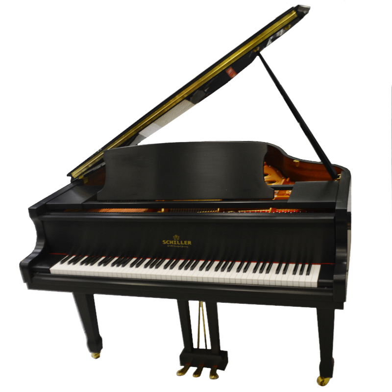 Schiller Leipzig Grand Piano – Ebony Satin