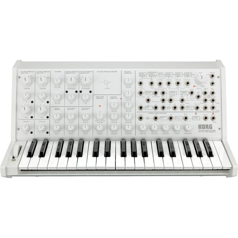 Korg MS-20 FS Monophonic Synthesizer - White