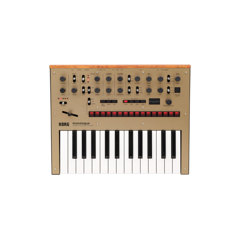 Korg monologue Monophonic Analogue Synthesizer - Gold