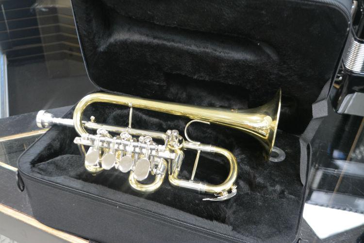 Schiller Elite Rotary Piccolo Trumpet