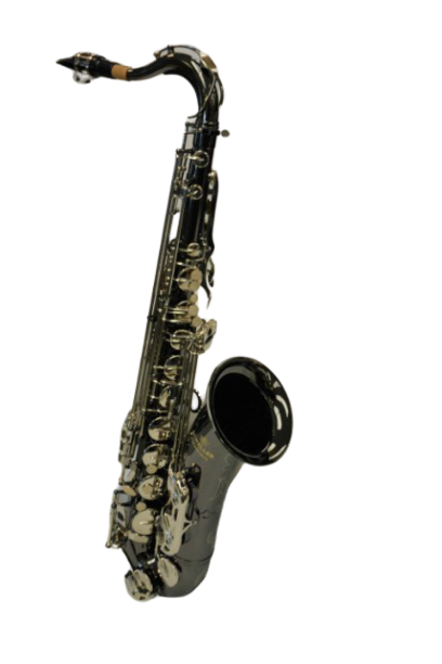 Schiller American Heritage 400 Tenor Saxophone – Black Nickel/Silver