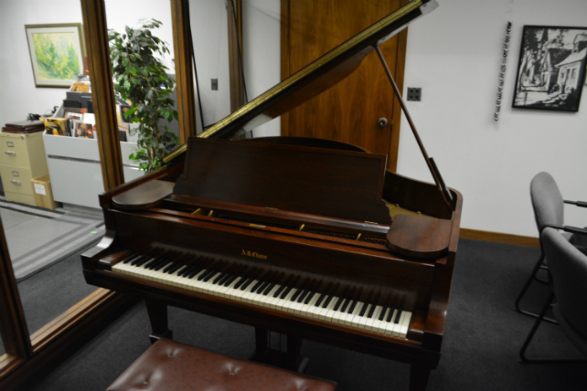 Chase Baby Grand Piano by AB CHASE PIANO COMPANY