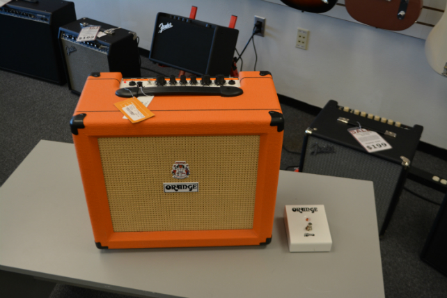 ORANGE CRUSH 35 RT AMPLIFIER
