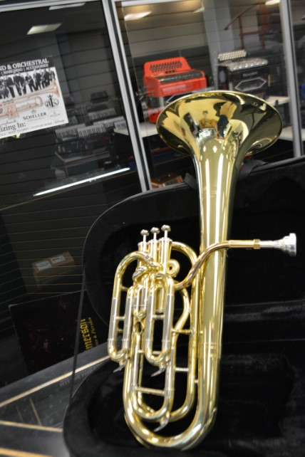 Schiller British Band Baritone Demo Model