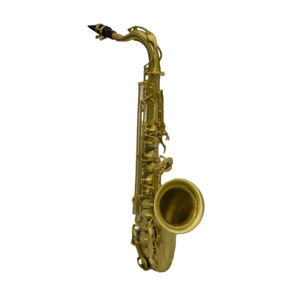 Schiller American Heritage 400 Tenor Saxophone – Brushed Brass