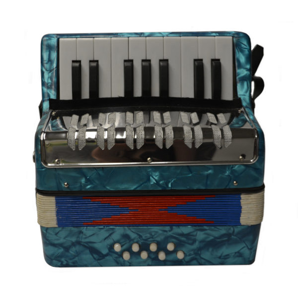 Premier Youth Series Piano Accordion - Aqua Blue