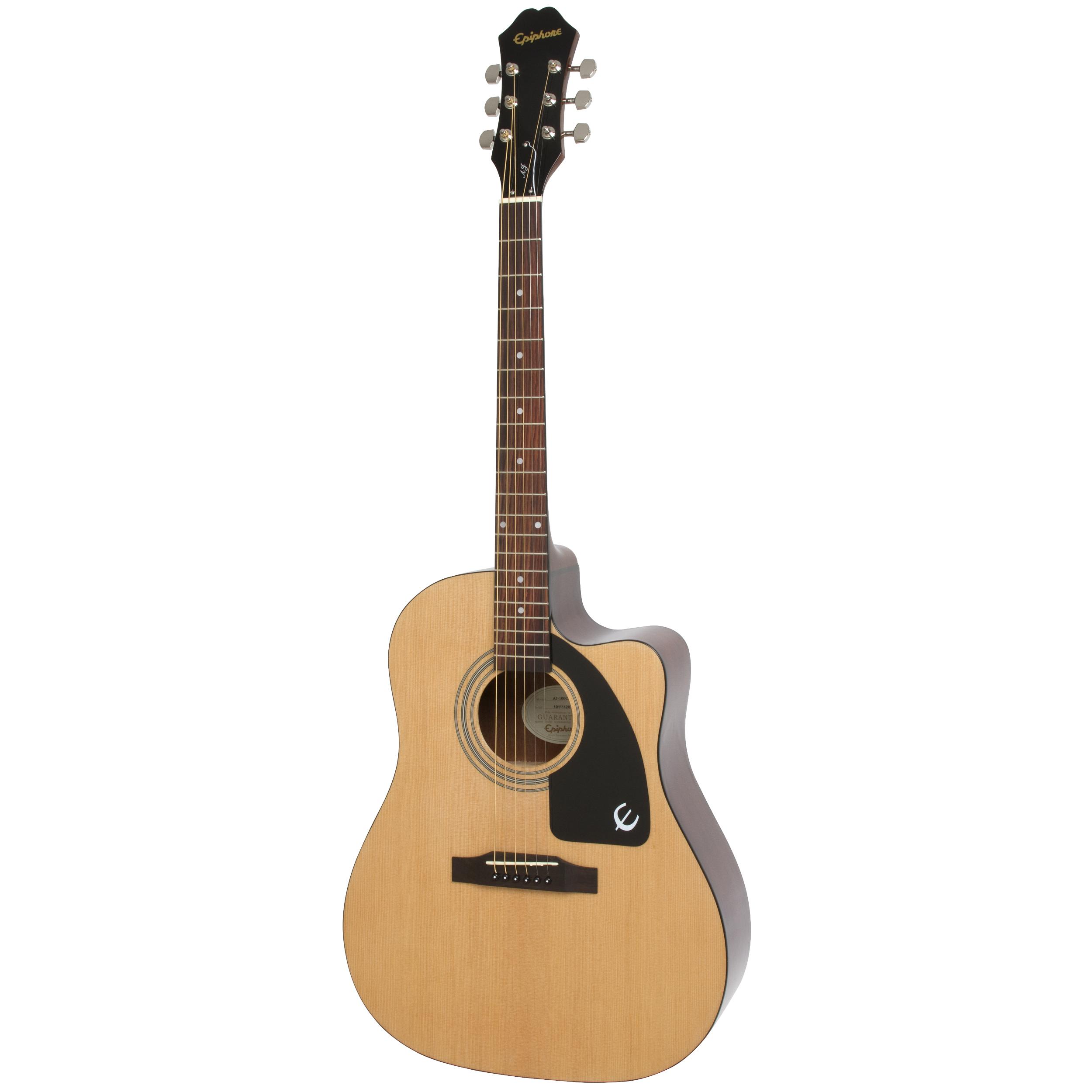 Epiphone AJ-100CE - Natural Guitar