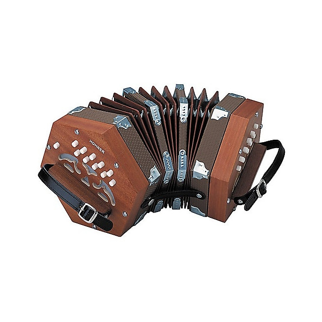 Hohner D40 Concertina 20 Key in C Accordion