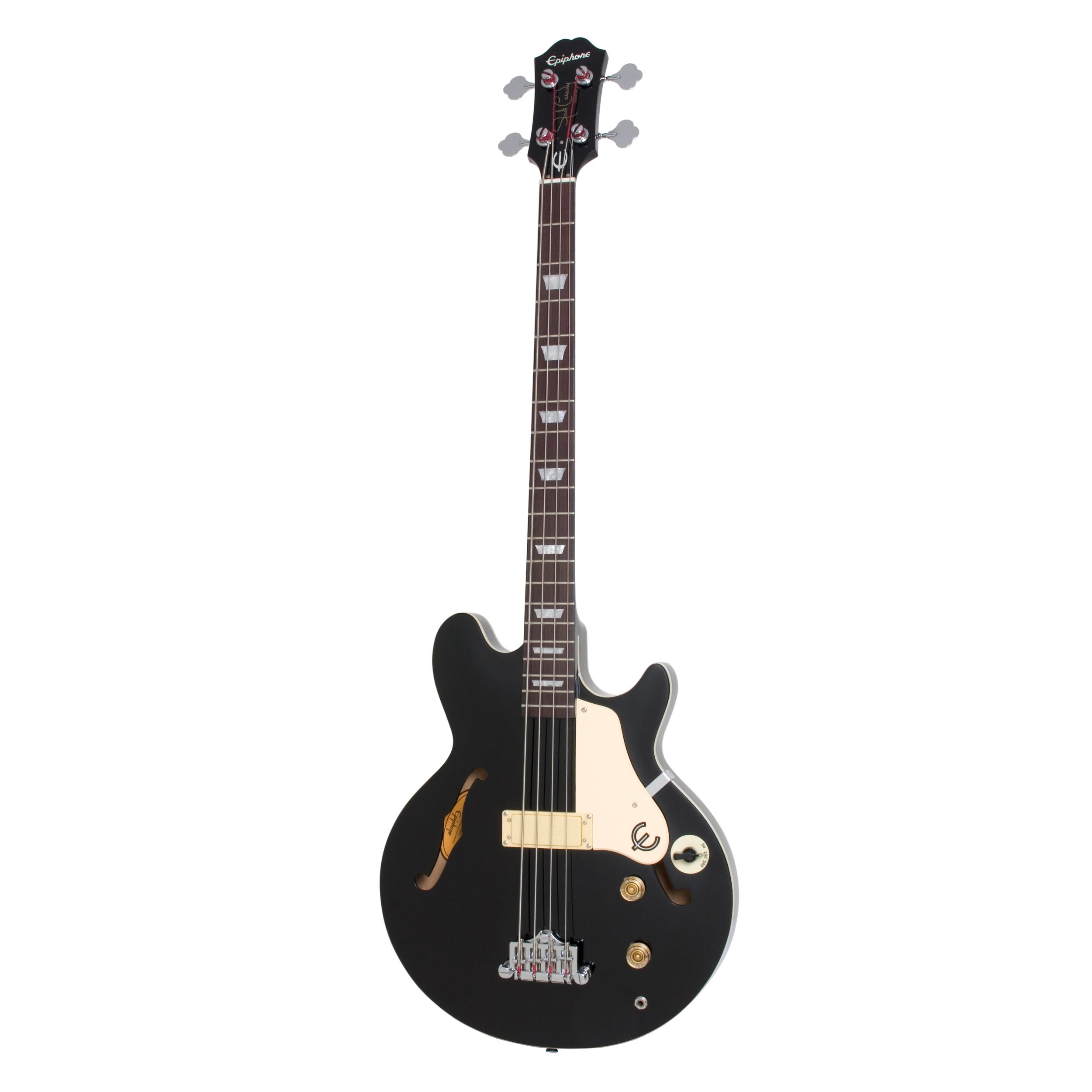 Epiphone Jack Casady Bass - Ebony Black Guitar