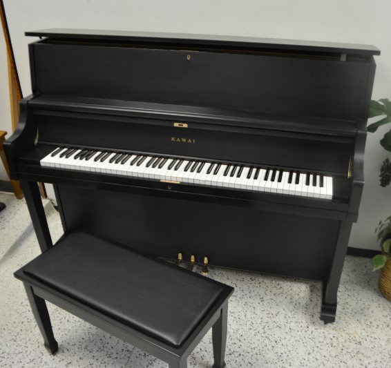 Kawai Professional Upright Piano Ebony Satin