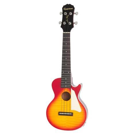 Epiphone Les Paul Acoustic/Electric Ukulele (Concert) - Heritage Cherry Sunburst