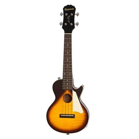 Epiphone Les Paul Acoustic/Electric Ukulele (Concert) - Vintage Sunburst