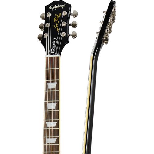 Epiphone Les Paul Classic - Ebony Black Guitar