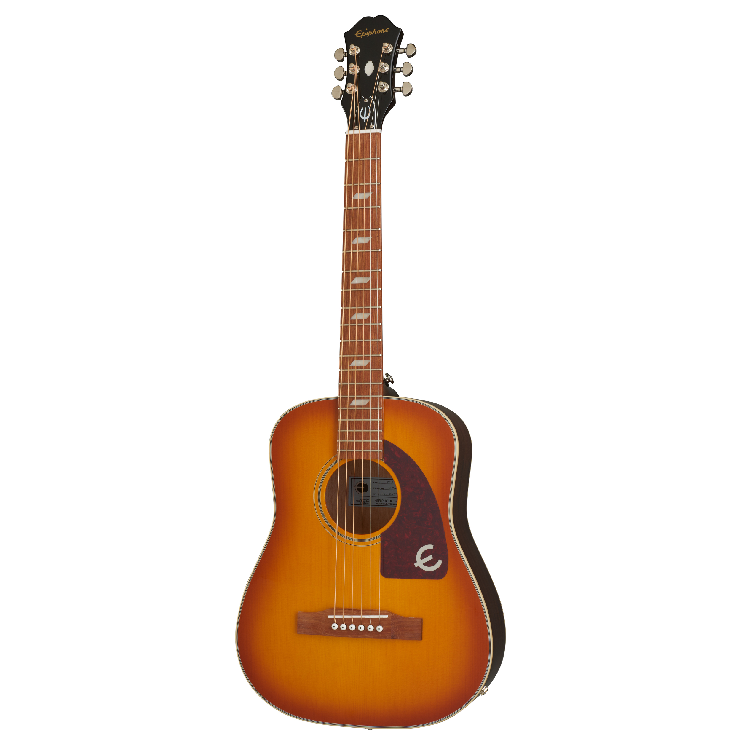 Epiphone Lil' Tex Travel Acoustic - Faded Cherry Guitar