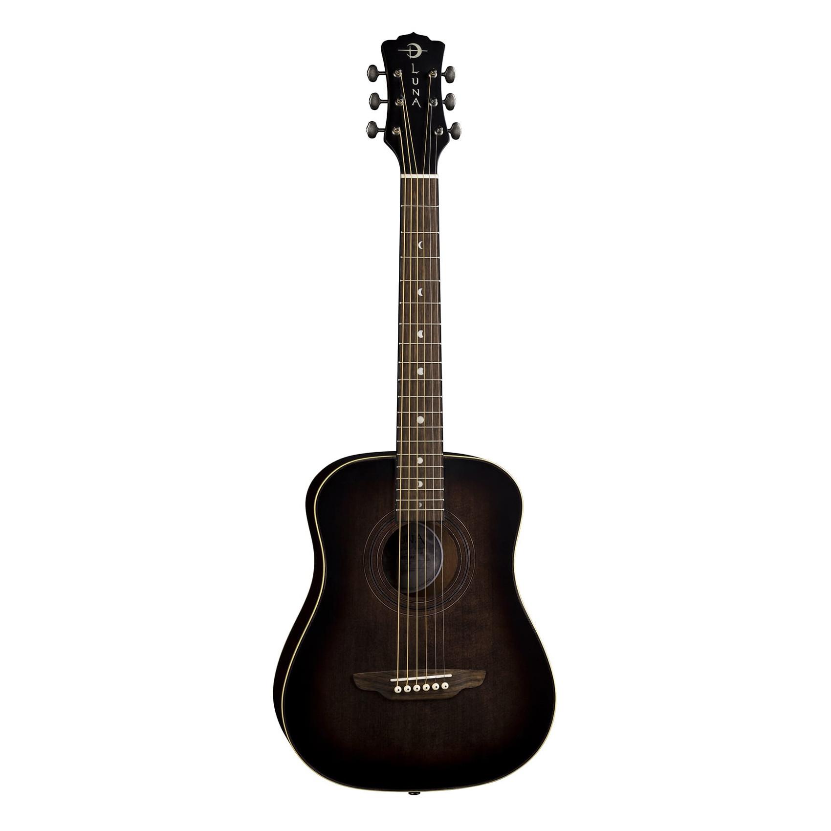 Luna Safari Artist Vintage Travel Guitar w/ Gigbag Guitar