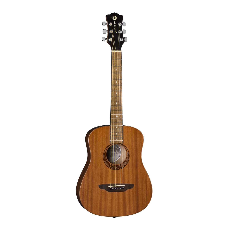 Luna Safari Muse Travel Guitar Mahogany - SAF MUS MAH
