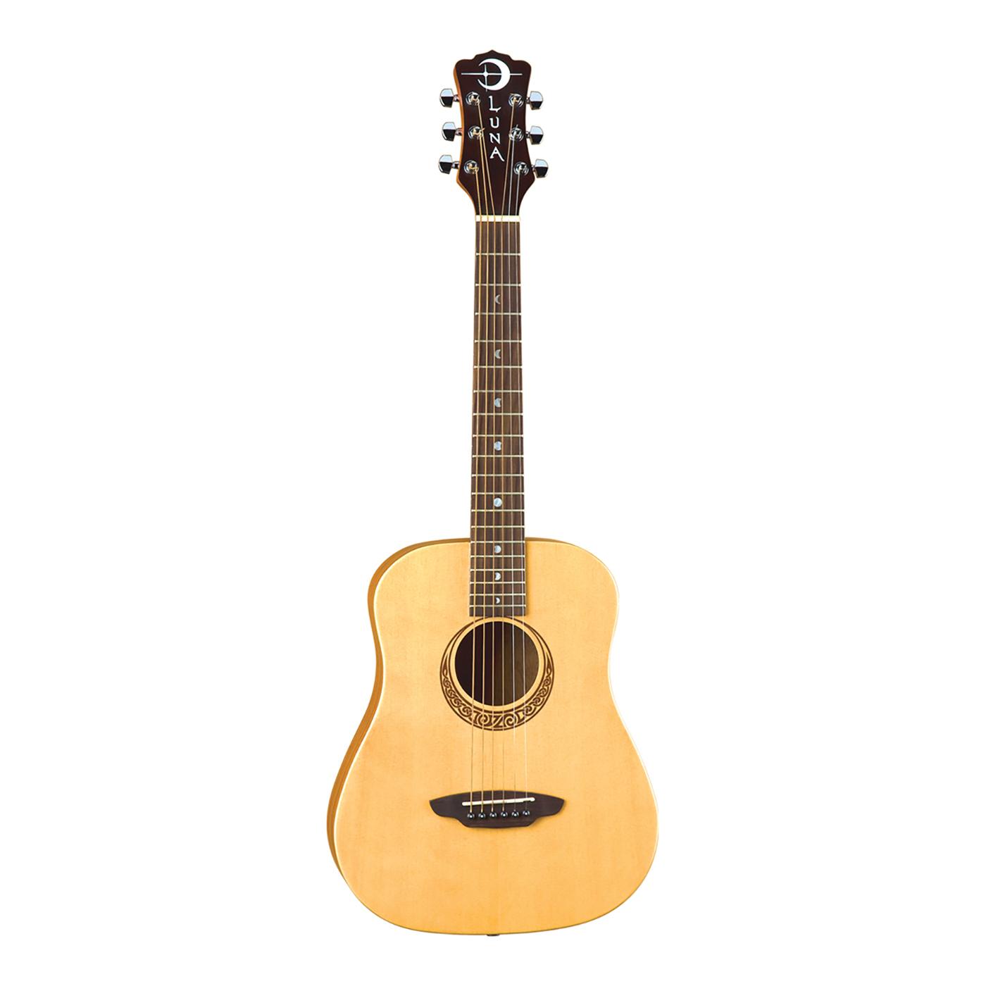Luna Safari Muse Travel Guitar Spruce - SAF MUS SPR