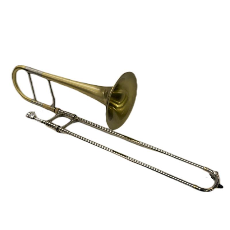 Schiller Elite Alto Trombone Brushed Gold