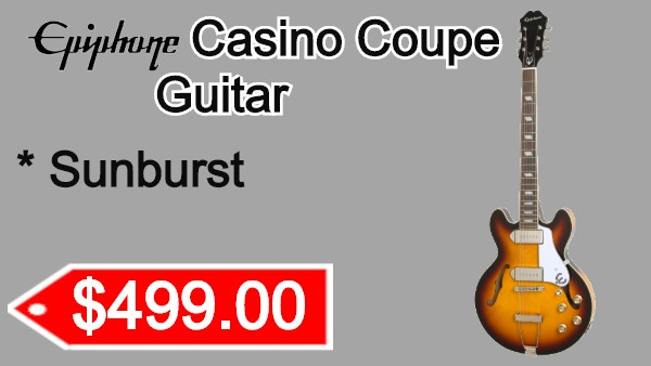 Epiphone Casino Coupe Vintage Sunburst on sale