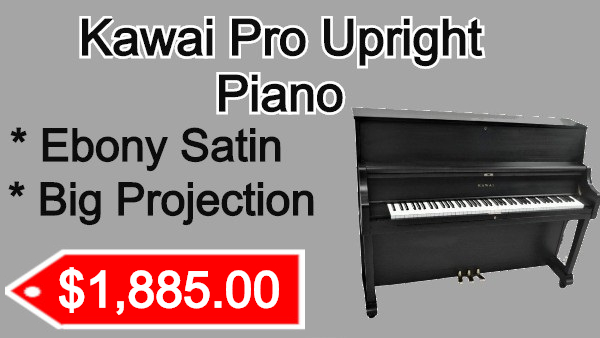Kawai Upright Piano on sale