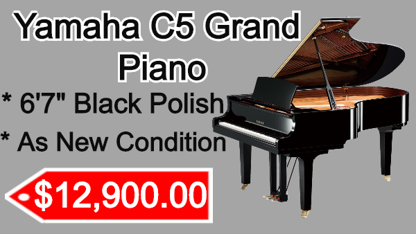 Yamaha C5 piano on sale