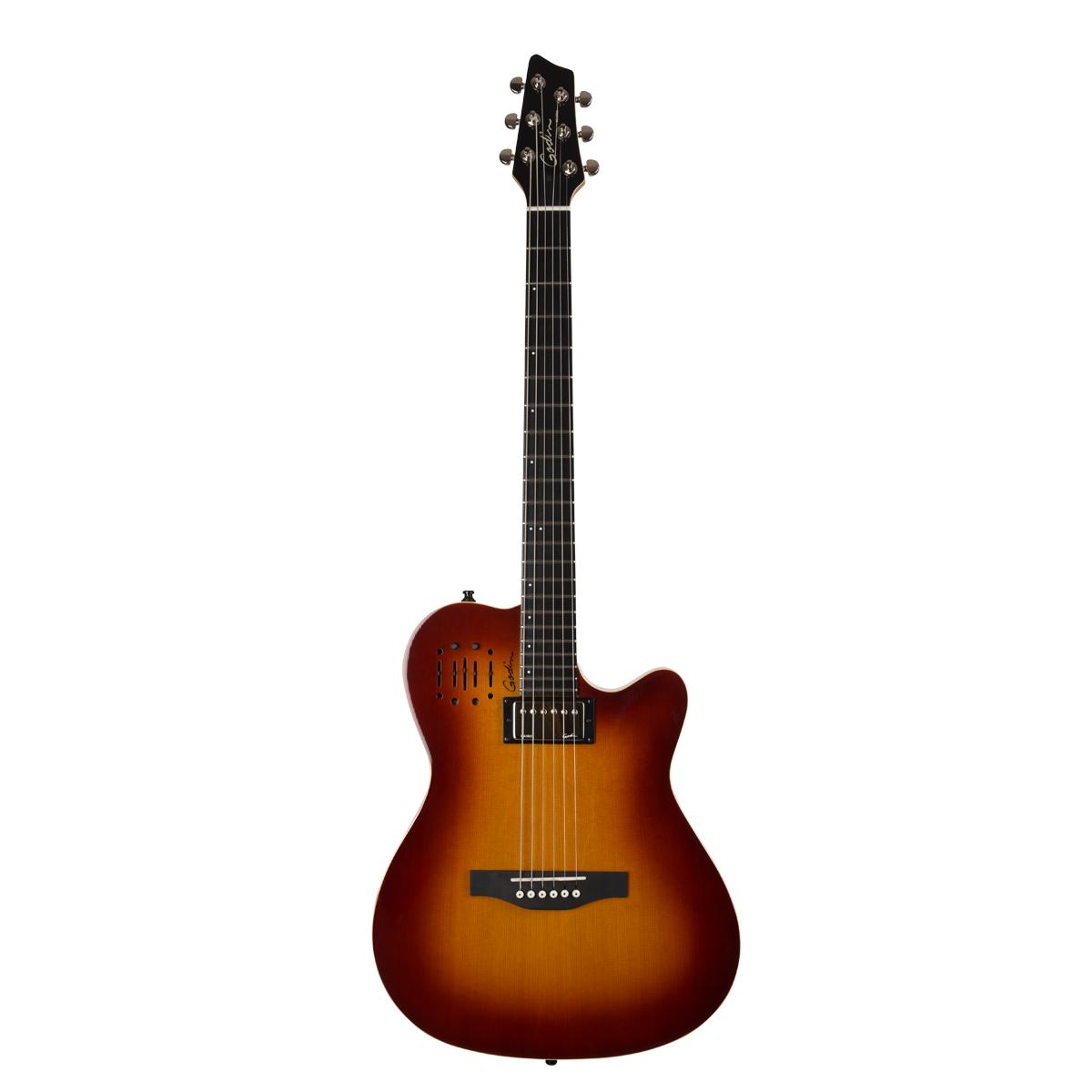 Godin 30286 A6 Ultra Cognac Burst Acoustic Electric Guitar