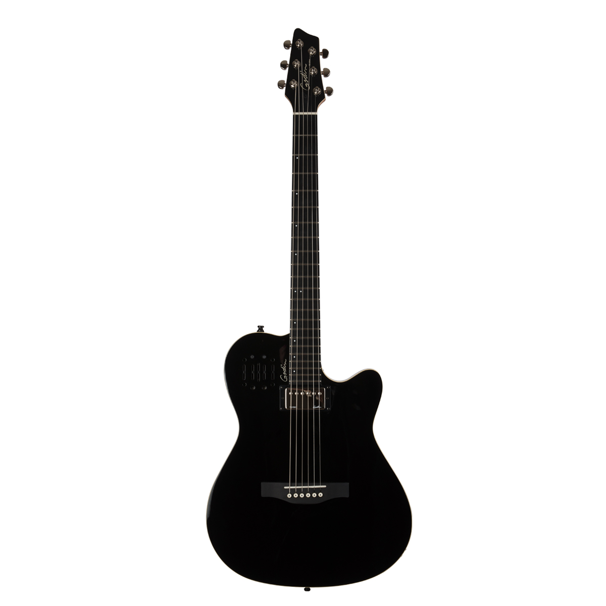 Godin 30309 A6 Ultra Black Acoustic Electric Guitar