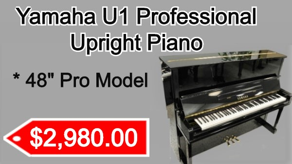 Yamaha U1 Upright piano on sale