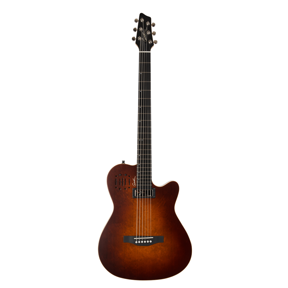 Godin 41602 A6 Ultra Baritone Burst Acoustic Electric Guitar