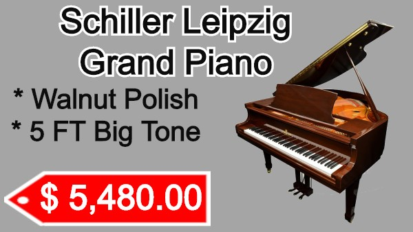 Schiller Leizpig Grand piano on sale