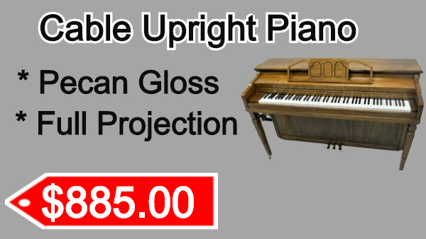 Cable Upright Piano on sale